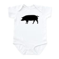 pig fluke Infant Bodysuit