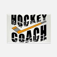 Hockey Coach Rectangle Magnet