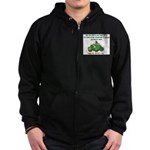 Irish Powered Zip Hoodie (dark)