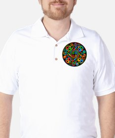 Celtic Stained Glass Spiral T-Shirt