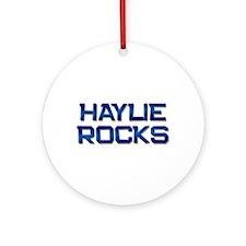 haylie rocks Ornament (Round)