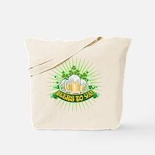 Cute St patrick%27s irish green beer drinking Tote Bag