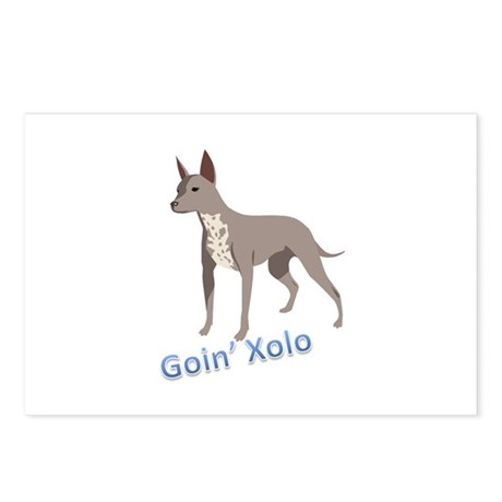 Goin' Xolo - Postcards (Package of 8)