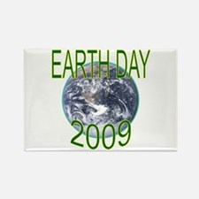 Earth Day 2009 Rectangle Magnet