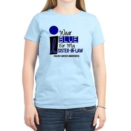 I Wear Blue For My Sister-In-Law 9 CC Women's Ligh