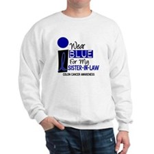 I Wear Blue For My Sister-In-Law 9 CC Sweatshirt