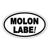 Molon labe sticker Stickers