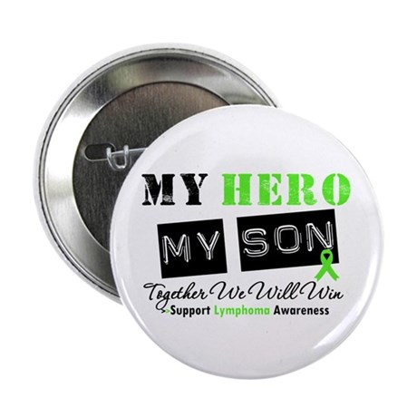 """Lymphoma Hero Son-in-Law 2.25"""" Button"""
