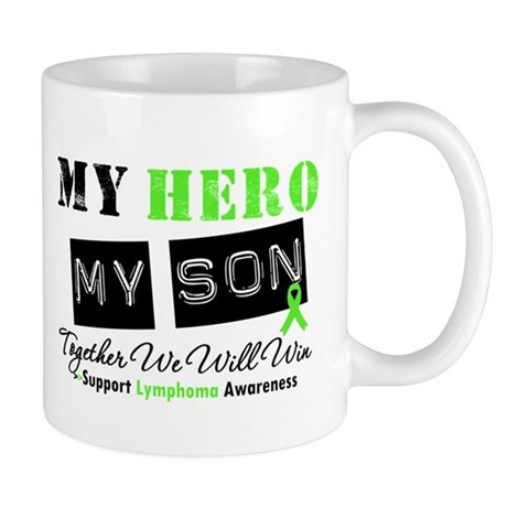Lymphoma Hero Son-in-Law Mug