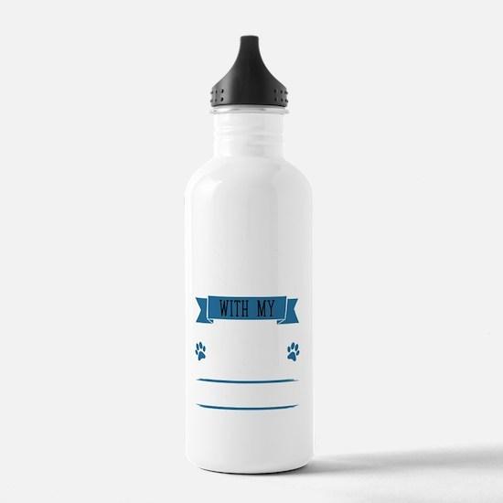 Unique Boston running Water Bottle