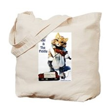 Tote Bag, Cat and the Fiddle