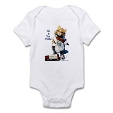Infant Bodysuit, Cat and the Fiddle Rhyme