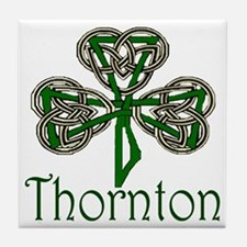 Thornton Shamrock Tile Coaster