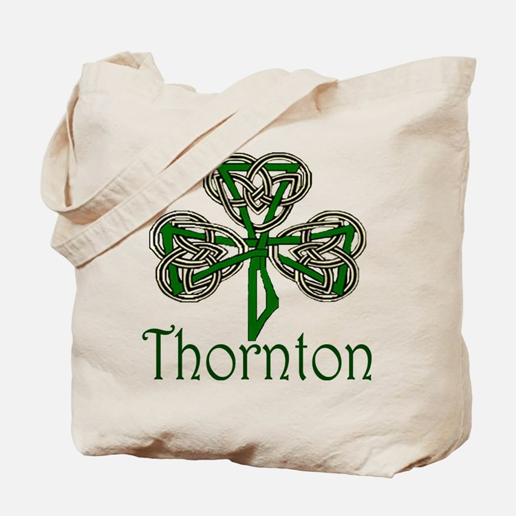 Thornton Shamrock Tote Bag