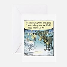Ironic Xmas Greeting Cards pack of 6