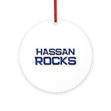 hassan rocks Ornament (Round)