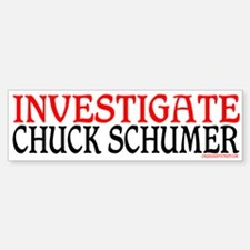 CHUCK SCHUMER Bumper Bumper Bumper Sticker