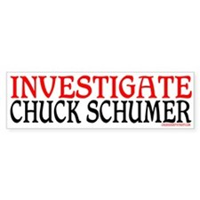 CHUCK SCHUMER Bumper Bumper Sticker