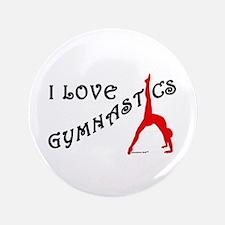 Gymnastics Button - Love