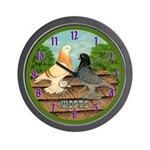 West of England Tumblers Wall Clock
