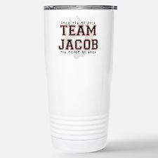 Team Jacob Stainless Steel Travel Mug