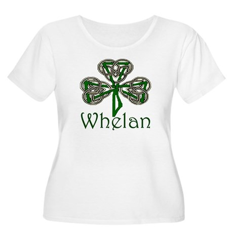 Whelan Shamrock Women's Plus Size Scoop Neck T-Shi