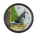 Racing Pigeon Large Wall Clock