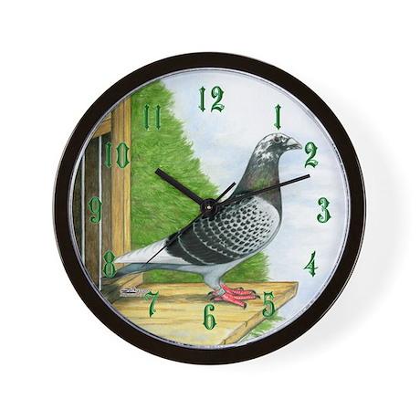Racing Pigeon Wall Clock