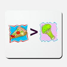 PIZZA > BROCCOLI Mousepad