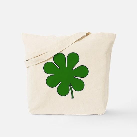 Seven Leaf Clover Tote Bag