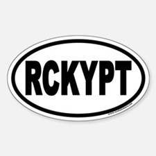 Rocky Point North Shore Hawaii RCKYPT Oval Decal