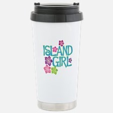 ISLAND GIRL Stainless Steel Travel Mug