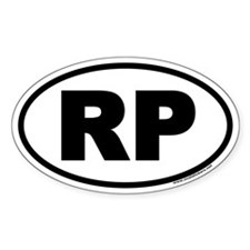 Rocky Point RP Euro Oval Decal