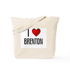 I LOVE BRENTON Tote Bag