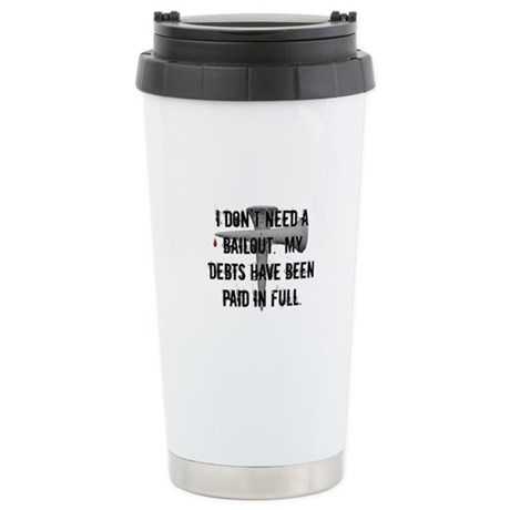 Christian Bailout Stainless Steel Travel Mug