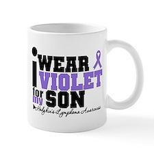 I Wear Violet For My Son Mug
