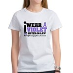 I Wear Violet Sister-in-Law Women's T-Shirt