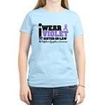 I Wear Violet Sister-in-Law Women's Light T-Shirt