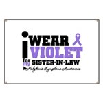 I Wear Violet Sister-in-Law Banner