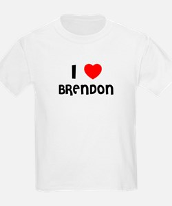 I LOVE BRENDON Kids T-Shirt