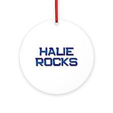 halie rocks Ornament (Round)