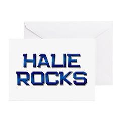halie rocks Greeting Cards (Pk of 10)
