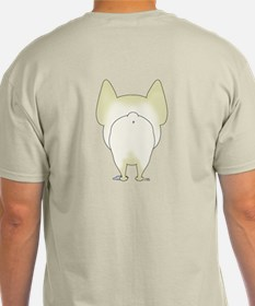 Big Nose/Butt Frenchie T-Shirt