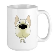 Big Nose/Butt Frenchie Mug