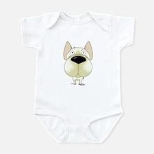 Big Nose Frenchie Infant Bodysuit
