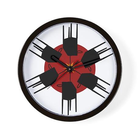 Theremin Wall Clock