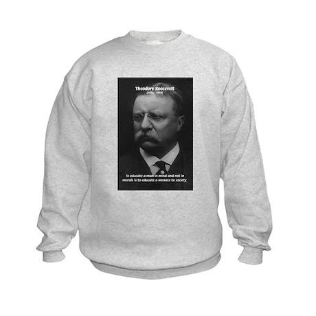 President Theodore Roosevelt Kids Sweatshirt