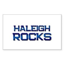 haleigh rocks Rectangle Decal