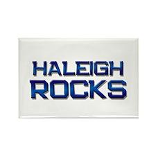 haleigh rocks Rectangle Magnet