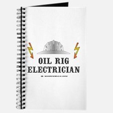 Oil Rig Electrician Journal, Electrician, Oil,Gas